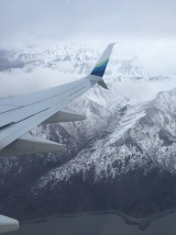 Coming into Anchorage